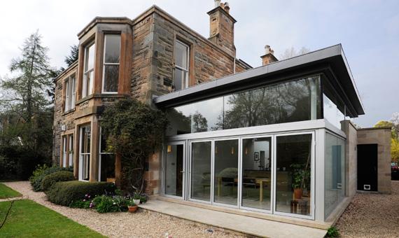 Villa extension - Edinburgh