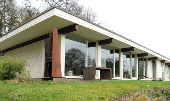 Extension to 1960s house, Lasswade