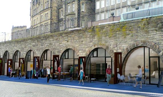 Arches conversion - Edinburgh