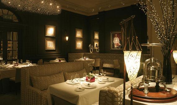 Restaurant interior - Gleneagles