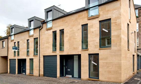 Two mews houses - Edinburgh