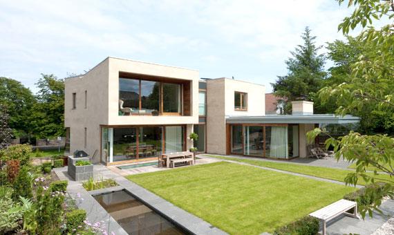 New villa in conservation area - Edinburgh